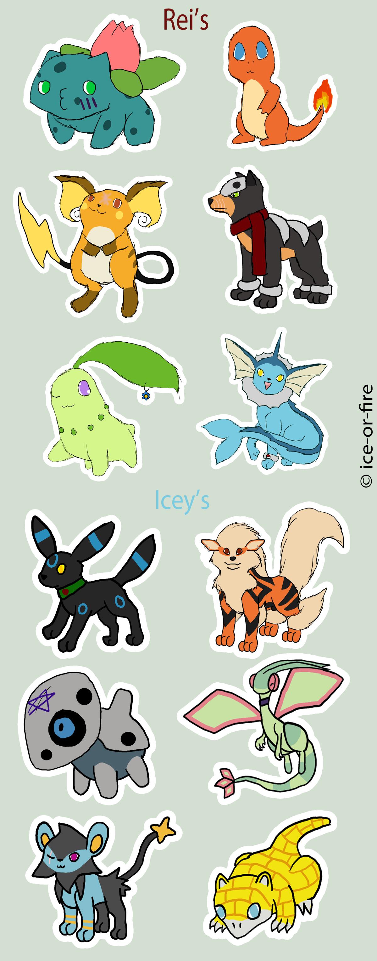 Pokemon teams by ice or fire on deviantart pokemon teams by ice or fire sciox Gallery