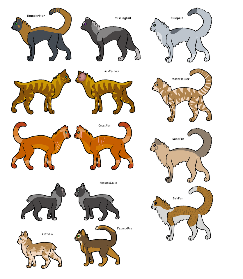 Missingtail Warrior Cats