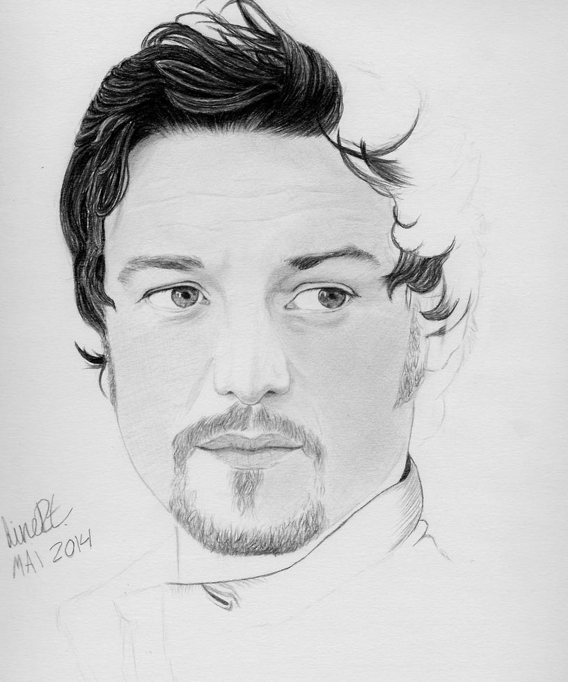 James McAvoy - WIP by EstherJones
