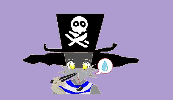 chopsticks pirate by Queen-Koopa