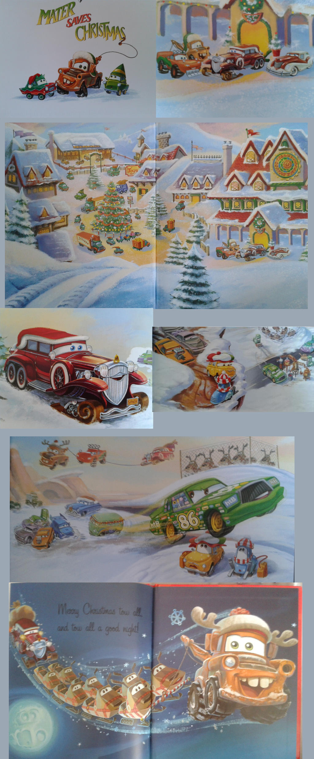 Cars collab - Mater saves Christmas by Queen-Koopa on DeviantArt