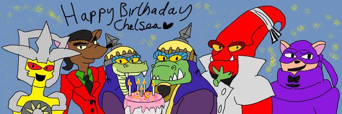 Happy Birthday Chelsea by Queen-Koopa