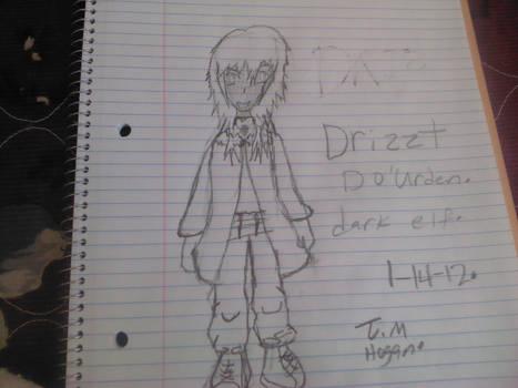 Drizzt the dark elf ranger