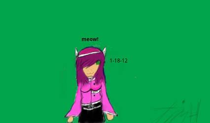 Kiwi the cat girl