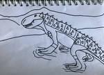 A Local Celebrity by DinoDragoZilla17