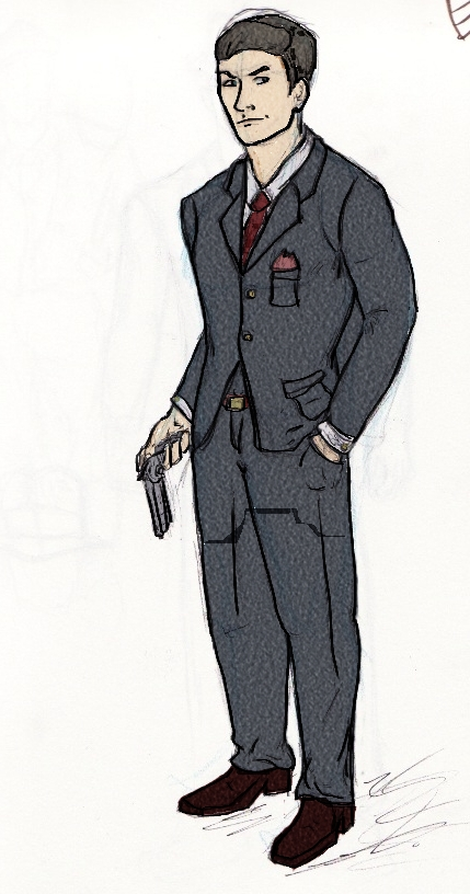 Men In Suit Drawing   www.imgkid.com - The Image Kid Has It!