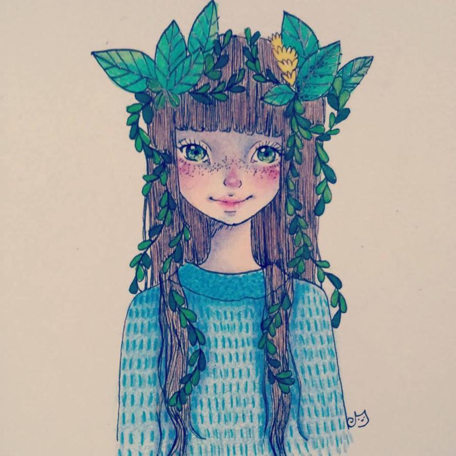 flowers by J-aimerais