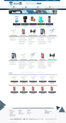 Domid.pl - layout design