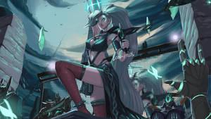 Ruined Queen Seraphine concept skin splashart