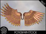 Metal Wings 003 Bronze by poserfan-stock