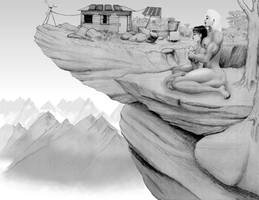 high mountain home - 1 by MuscleWomen-Planet