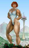 Rough mountain hillbilly by MuscleWomen-Planet