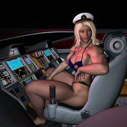 Pilot Gloria 1 by MuscleWomen-Planet