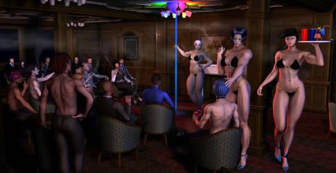 Joy wearing club uniform bikini by MuscleWomen-Planet