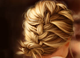 hair study blond by JimmyZhang
