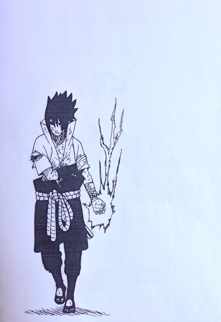 Uchiha Sasuke by MaikoCrane