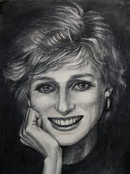 Princess Diana by RasicART