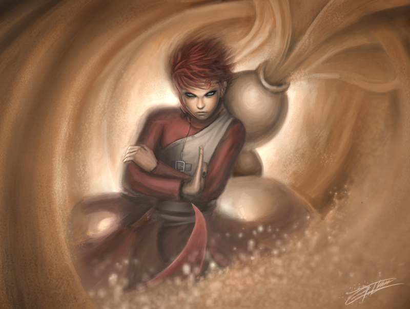 Gaara of the Sand