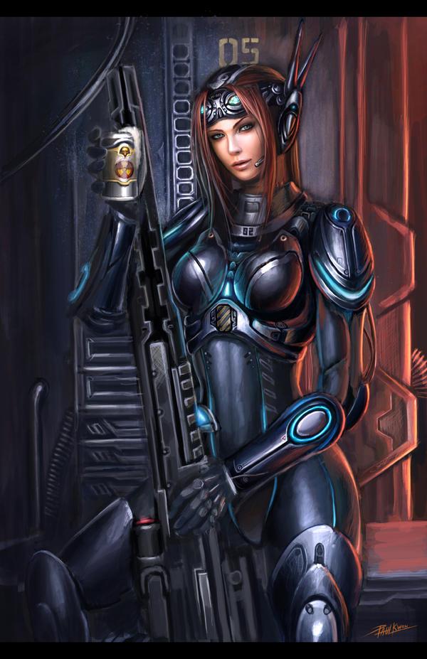 Starcraft 2 kerrigan sexy