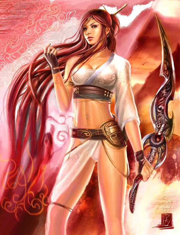 Nariko Goddess of War by ZeroNis