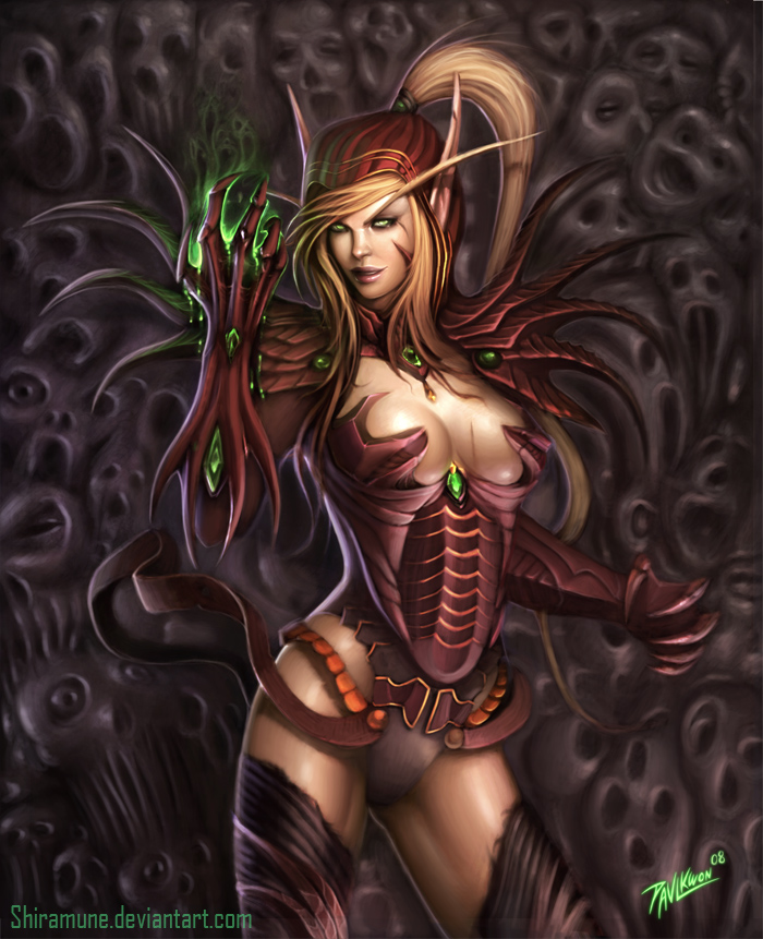 Valeera Sanguinar by ZeroNis