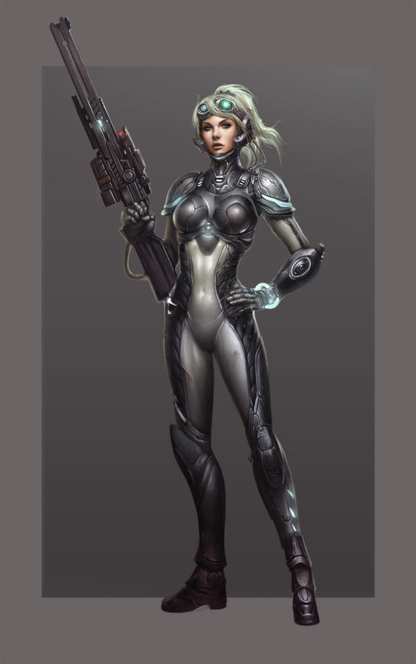 Starcraft Ghost Nova by ZeroNis