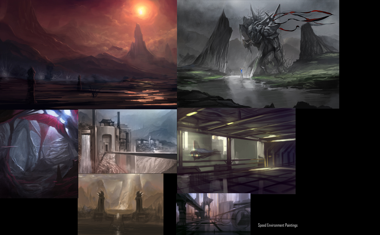 Environment Collection 1 by ZeroNis