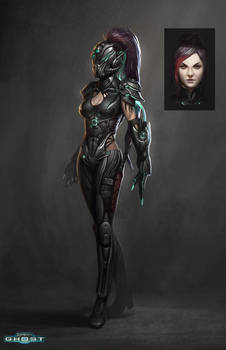 Starcraft Ghost Spectre Lady