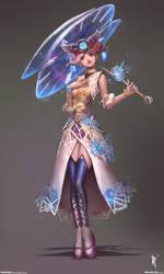 Pamina Character 1 by Zeronis