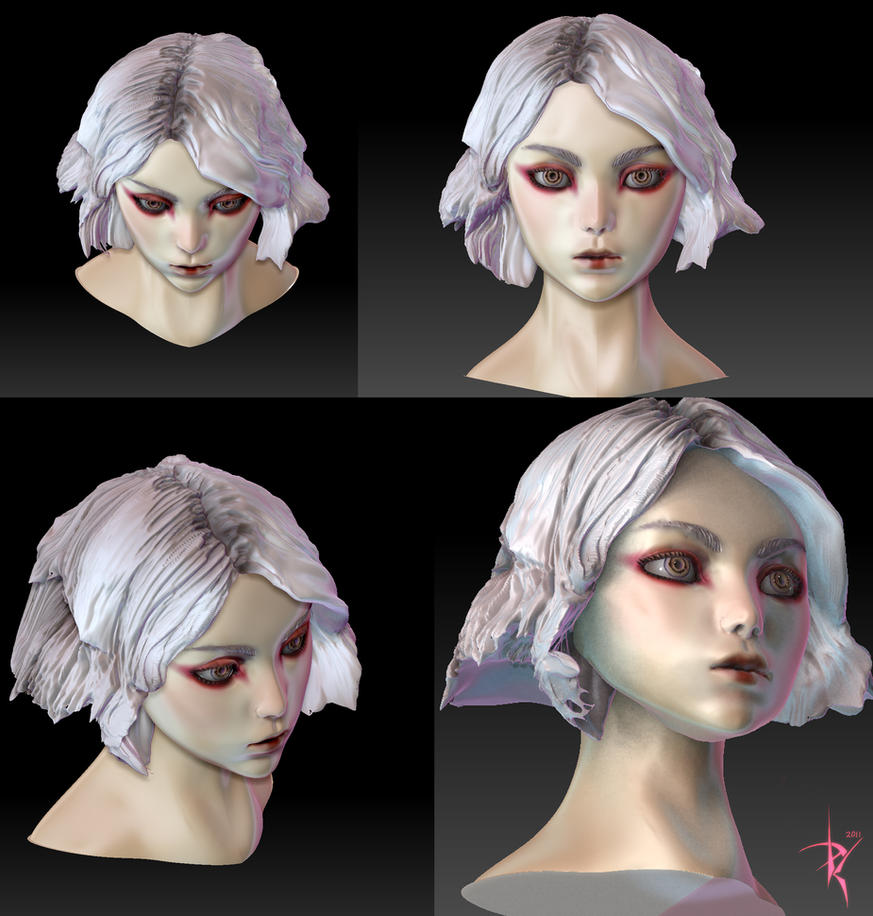 First Zbrush Model by ZeroNis