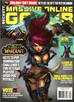 Massive Online Gamer Issue 34