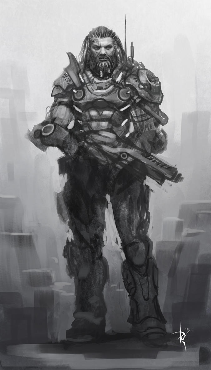 Another rough character concept by Zeronis