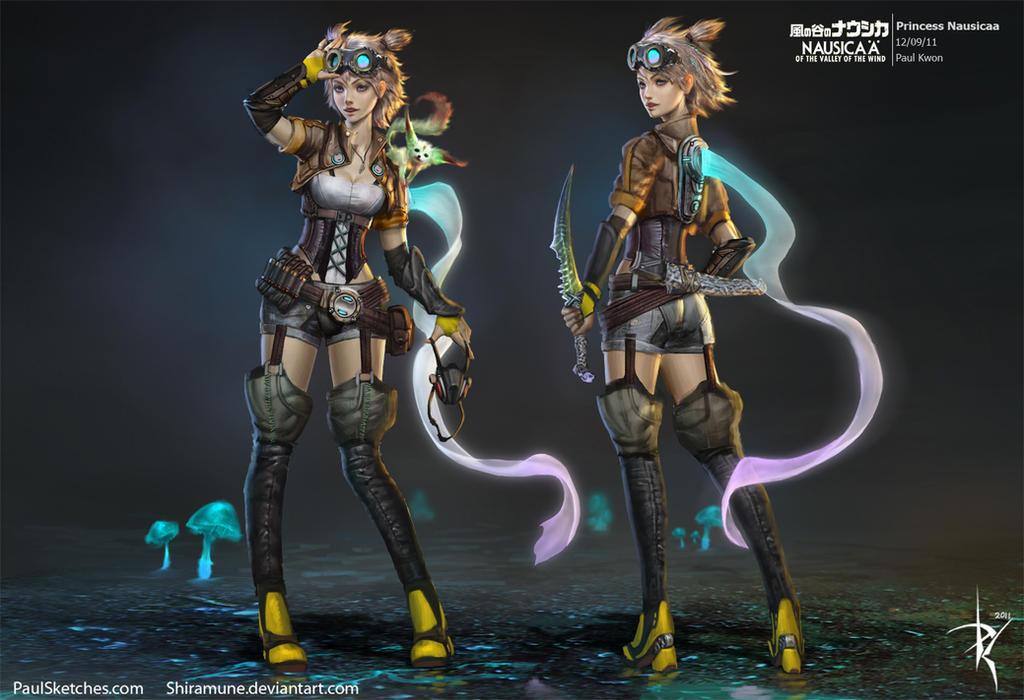 Deviantart: Nausicaa By Zeronis On DeviantArt