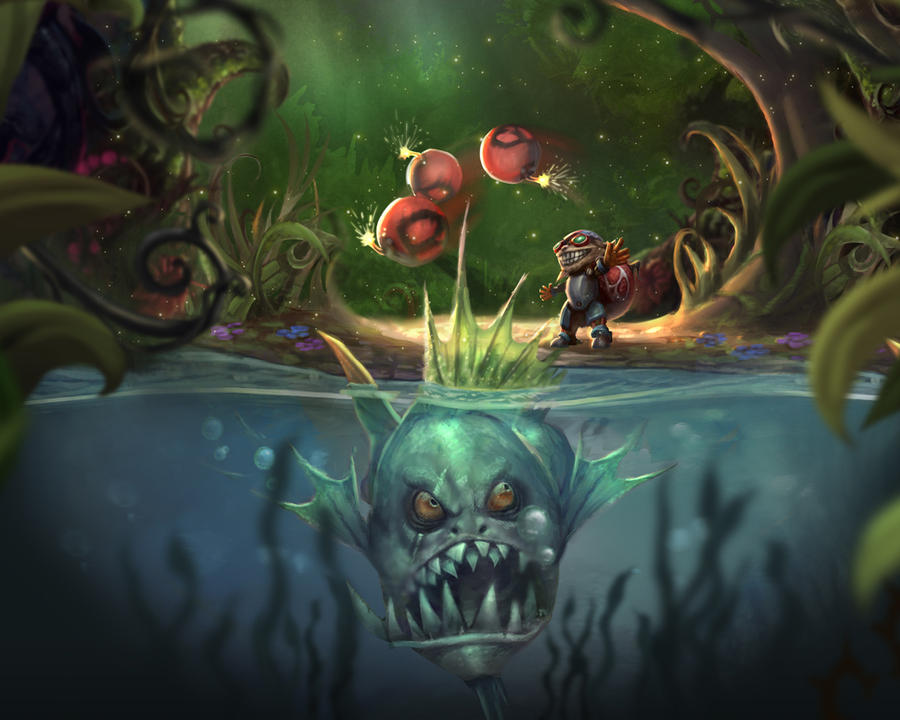 The Great Hunt Ziggs by ZeroNis