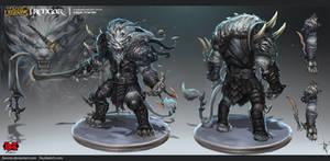 Rengar Official Concept Art