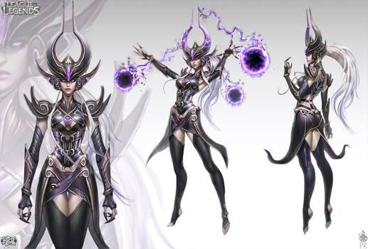 Syndra The Dark Sovereign Official Concept Art
