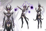 Syndra The Dark Sovereign Official Concept Art