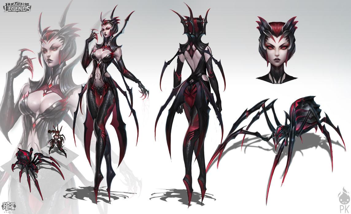 Pubg By Sodano On Deviantart: Elise The Spider Queen By Zeronis On DeviantArt