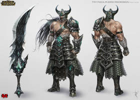 Tryndamere Concept Art by Zeronis