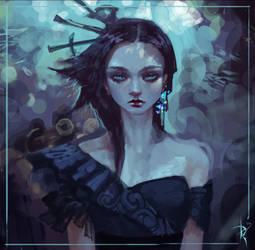 Portrait Girl by Zeronis