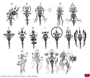 Syndra The Dark Sovereign Ideation Thumbnails