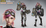 Vi Official Concept Art RiotZeronis