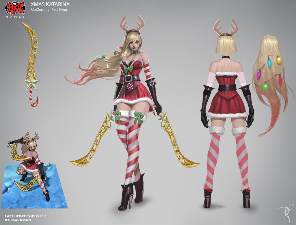 Slay Belle Katarina Concept Art RiotZeronis by Zeronis