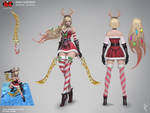 Slay Belle Katarina Concept Art RiotZeronis