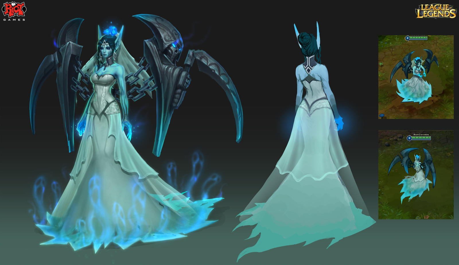Ghost Bride Morgana RiotZeronis by ZeroNis on DeviantArt