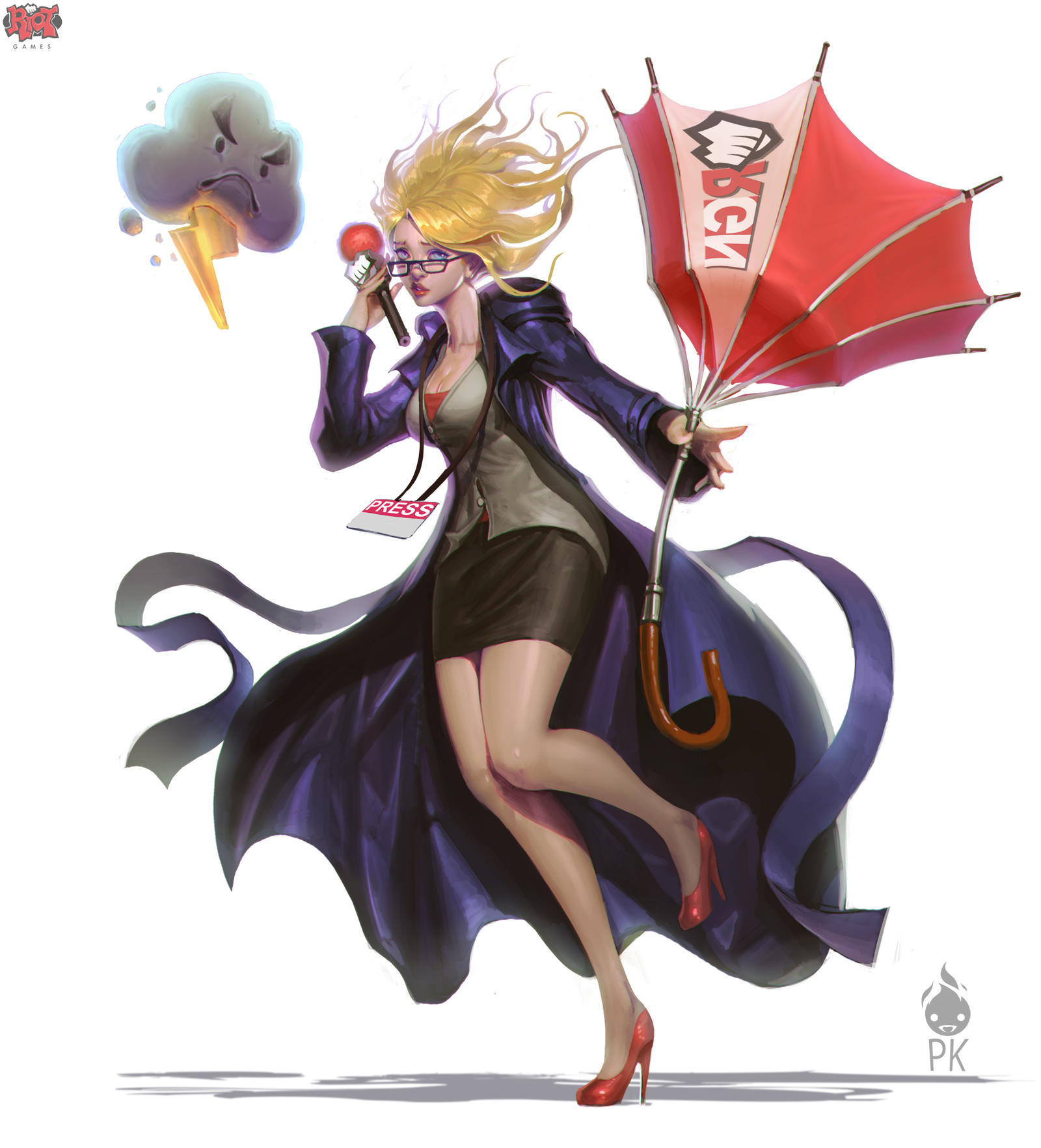 Forecast Janna Concept Art by Zeronis