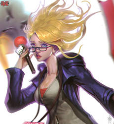Weather Forecast Janna Portrait Paul Kwon by Zeronis