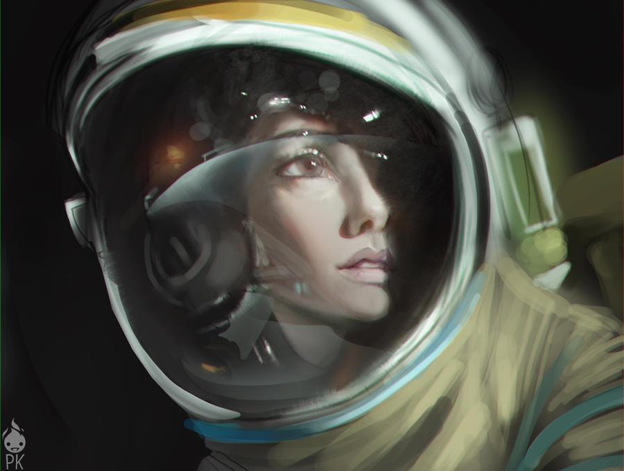 Gravity Ryan Stone by ZeroNis