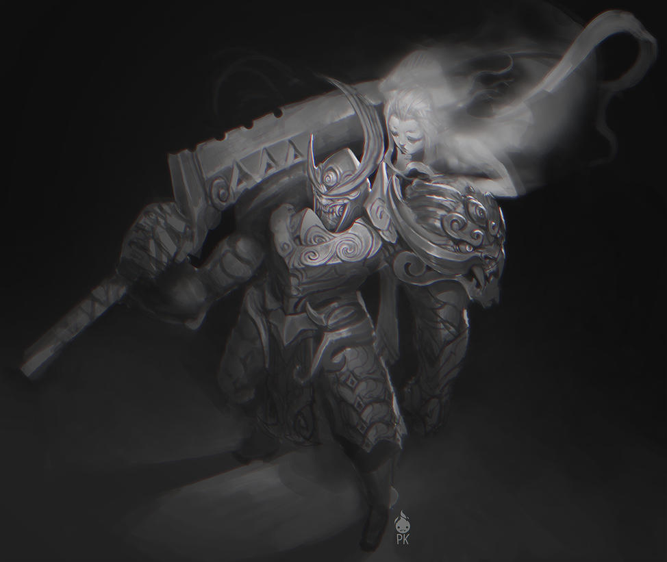 Samurai Oni by ZeroNis