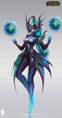 Atlantean Syndra Official Art